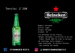 tercio heineken carta digital